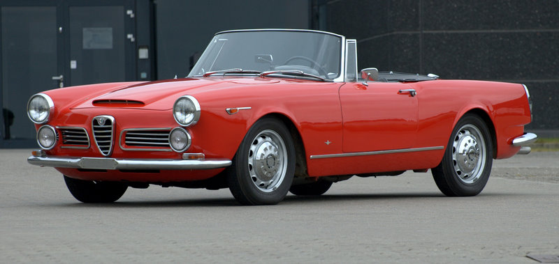 alfa romeo 2600 spider 1964 stelvio. Black Bedroom Furniture Sets. Home Design Ideas