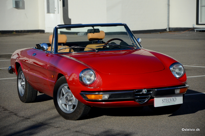 Cars For Sale Stelvio - Alfa romeo spider 1974 for sale