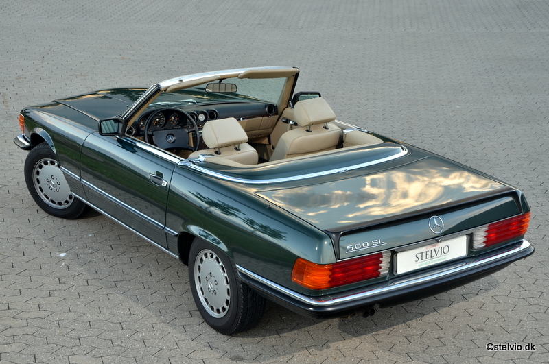 Mercedes Benz 500 SL - 1988