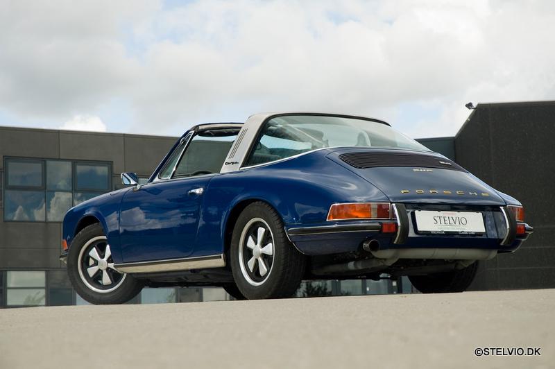 Porsche 911s 2 4 Targa 1972 Stelvio